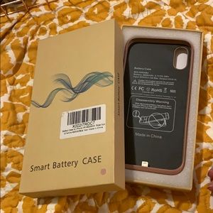 Rose Gold Smart Phone Battery Case